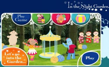 In the Night Garden: Dinosaur Bones Game