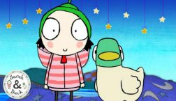 Sarah & Duck: Feeding Time game