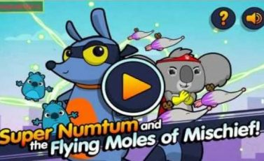 The Numtums: Super Numtum and the Flying Moles of Mischief